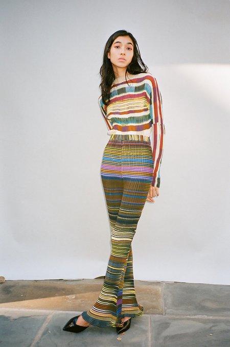 Julia Heuer Rose Stripe Pant