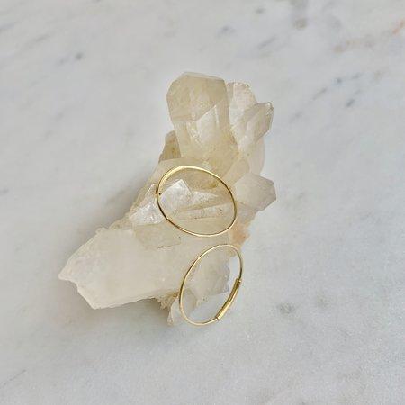 Kathleen Whitaker Hoop Earring - 14K Gold