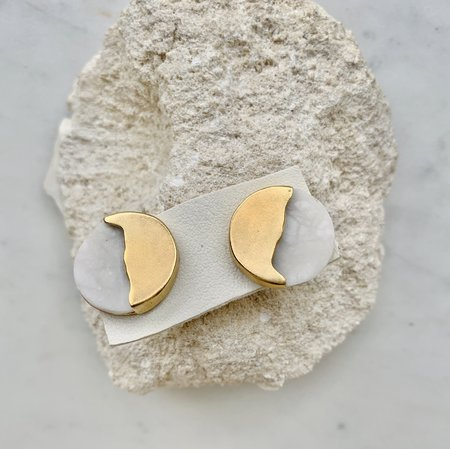 Takara Battu Earrings - Gold Plated