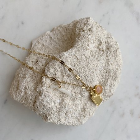 Takara Cove Necklace - 14K Gold Fill