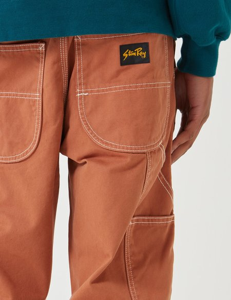 Stan Ray 80's Straight Overdye Painter Pant - Sandstone Brown