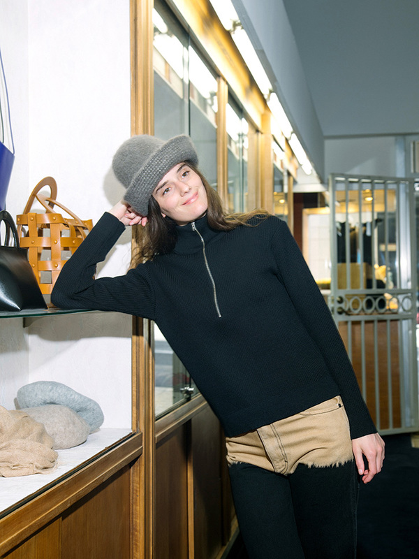 Lauren Manoogian Felt Bell Hat