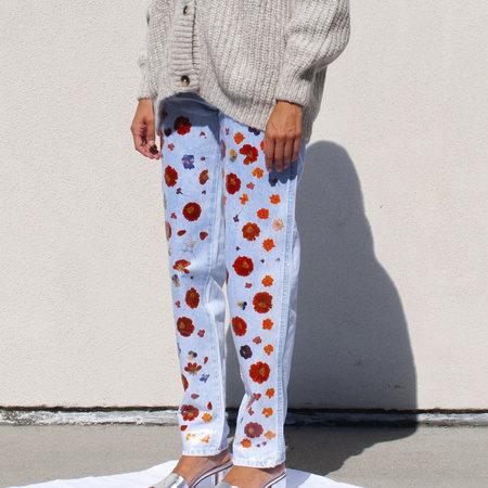 Maryam Nassir Zadeh Babylon Jeans in Multi