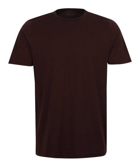 Albam Classic Short Sleeve T-Shirt - Burgundy