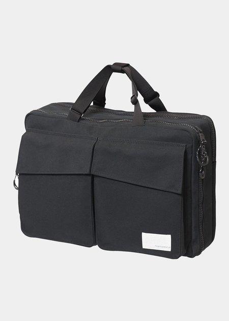 Nanamica 3 Way Briefcase - Black