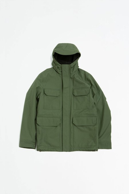 Norse Projects Nunk Cambric Cotton Jacket - ivy green
