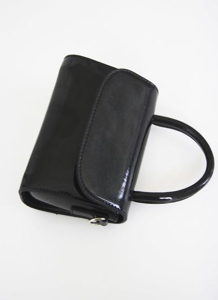 Seoul Collective 90s Mini Patent Handbag - Black