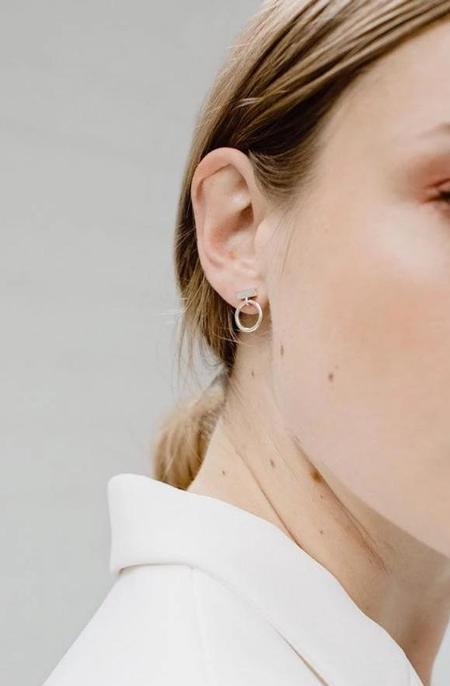 Maksym Boba Earrings - Silver