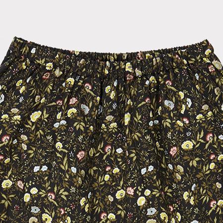 Kids Caramel Nilus Trouser - Liberty Mina Green