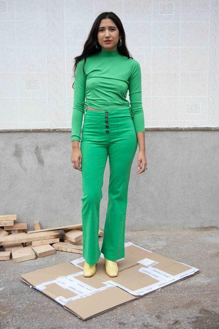 Paloma Wool Mandia Top - Intense Green