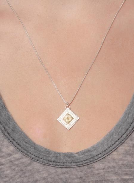 Lulu Designs Sutra Necklace - Yellow Bronze