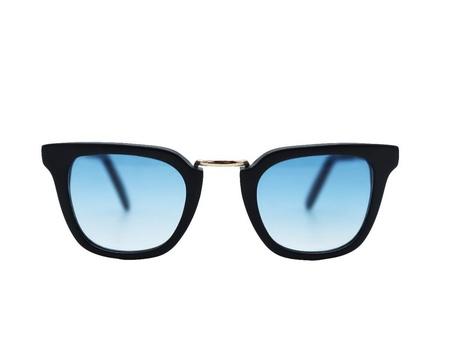 Cutler And Gross 1066 Sunglasses - Matt Black/Shiny Black