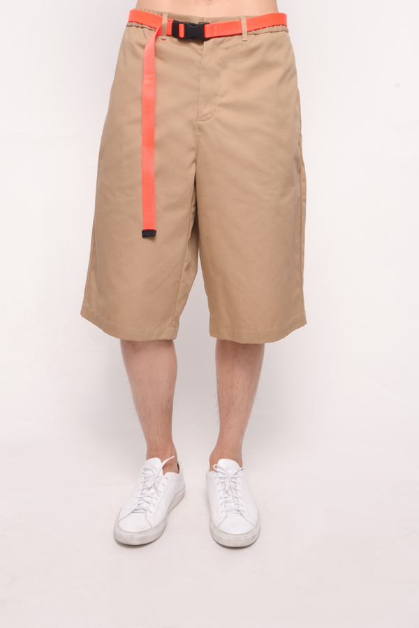 The Celect Chino Basketball Short - Sand