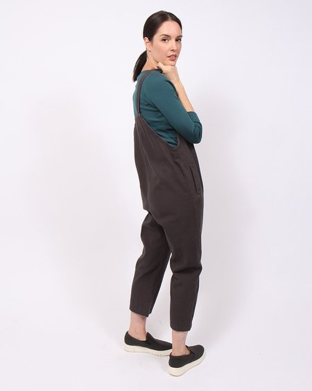 Little Lies Frankie Overalls - Charcoal Grey