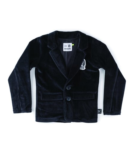 Kids Nununu Velvet Jacket