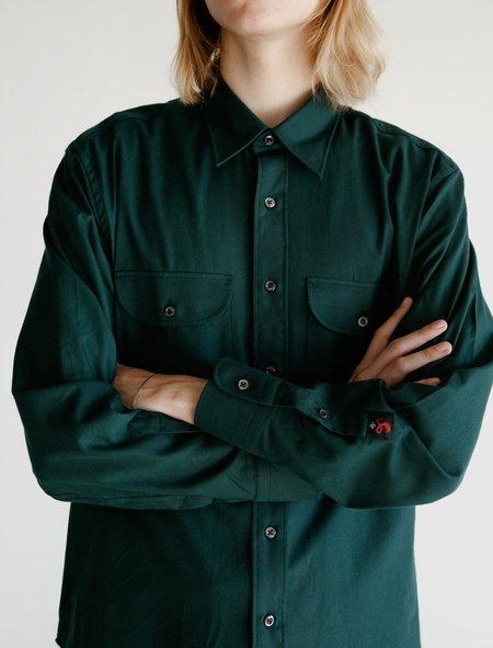 Cobra SC Double Pocket Shirt  - Jag Green Flannel