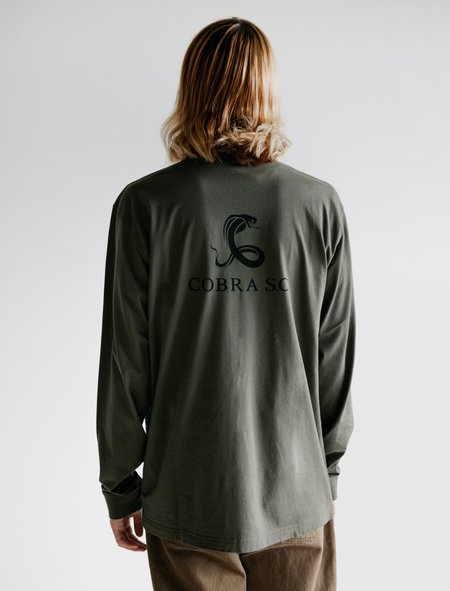 Cobra SC Long Sleeve T-Shirt - Military Green Jersey