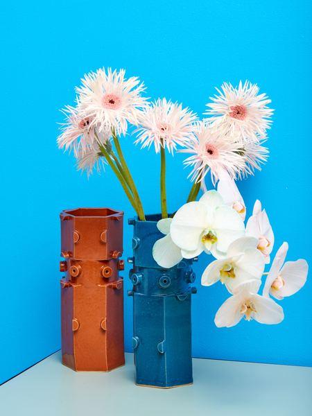 Bzippy & Co. Vase - BROWN