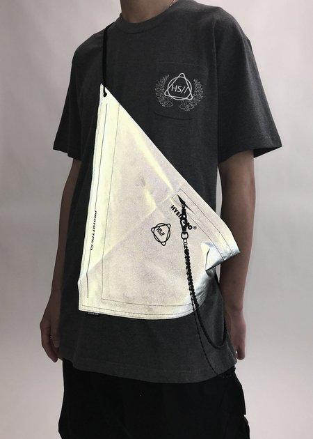 Hyein Seo Reflective Scarf Bag - Dark Grey