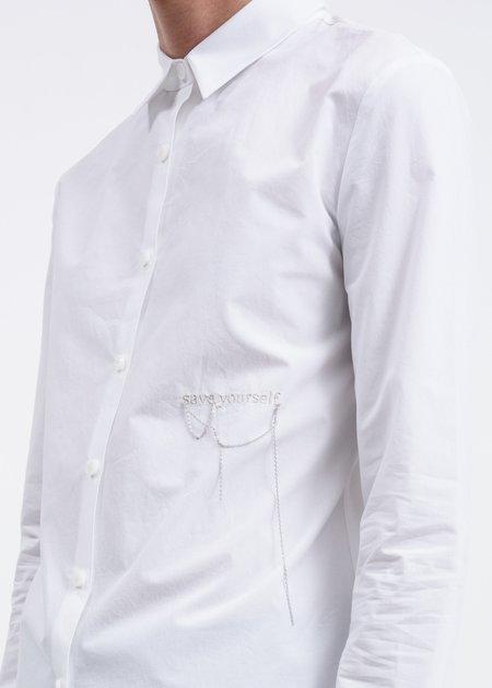 Hyein Seo Embroidered Shirt - White