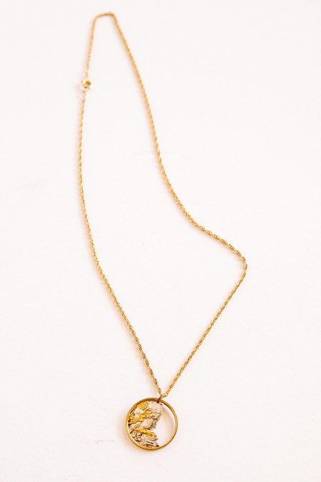 Vintage Prism Boutique Marianne Coin Necklace