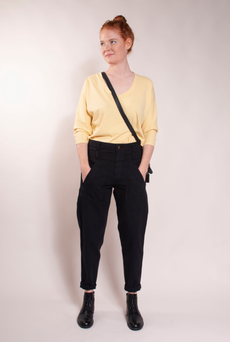 Built by Wendy Everyday Trousers - Black