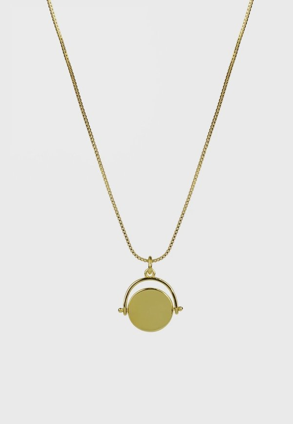 BRIE LEON 925 Spinning Disc Pendant - gold