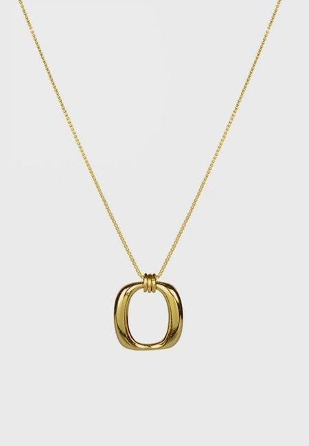 BRIE LEON Enlazar Pendant - gold
