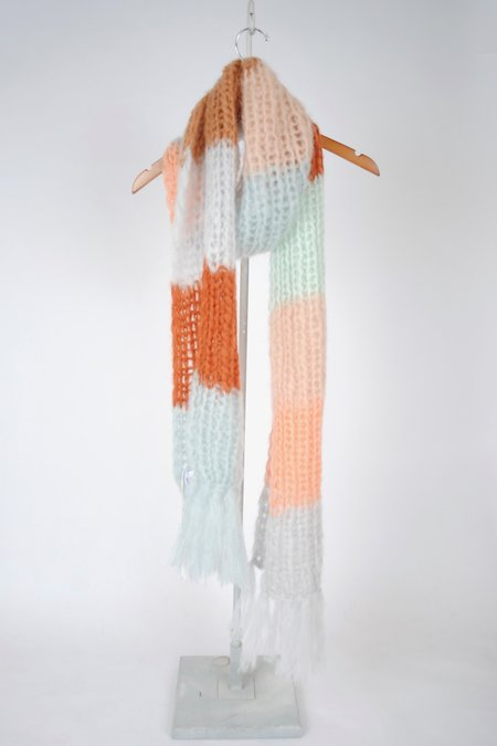 Maiami Mohair Scarf - Multistriped