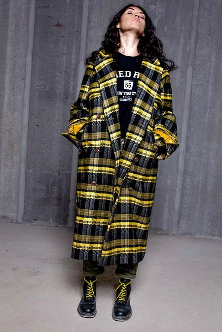 Unisex Fried Rice Long Coat