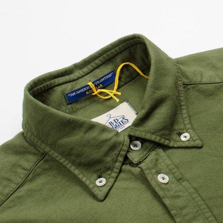 BD Baggies Bradford Button Down Shirt - Oxford Overdyed Olive