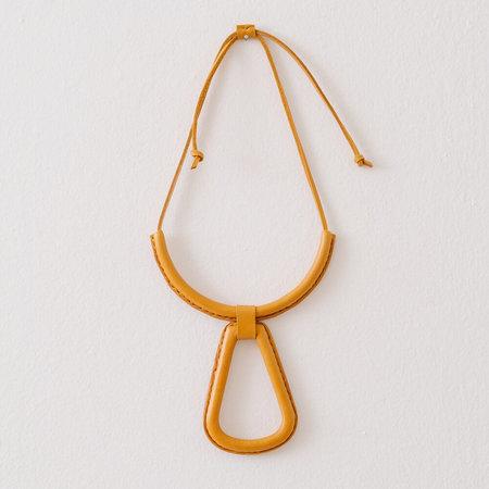 Crescioni georgia necklace - tumeric