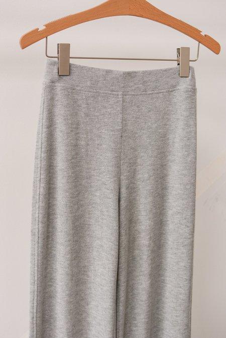 Beautiful People Jersey Wide Leg Pant - Grey