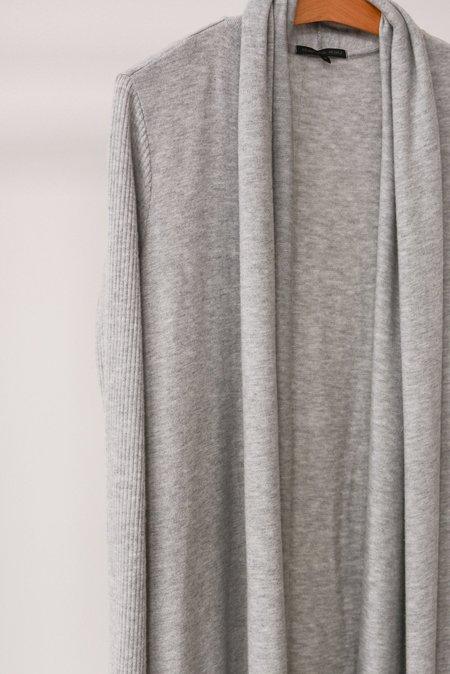 Beautiful People Rib Jersey Duster - Grey