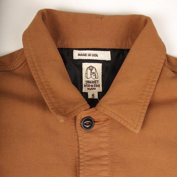 KATO The Vise Double Weave Shirt - Camel