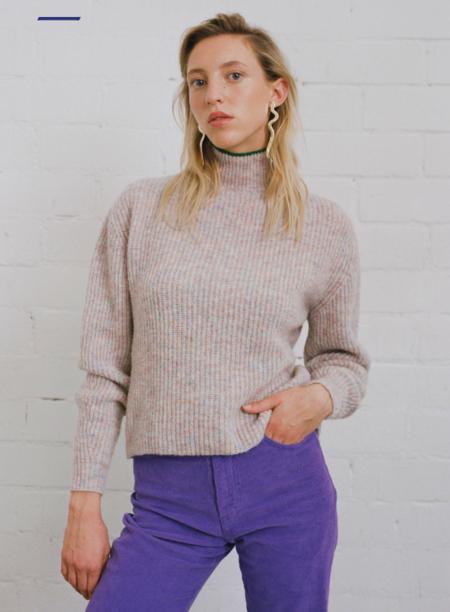Paloma Wool Himalaya Turtleneck Sweater - Cream