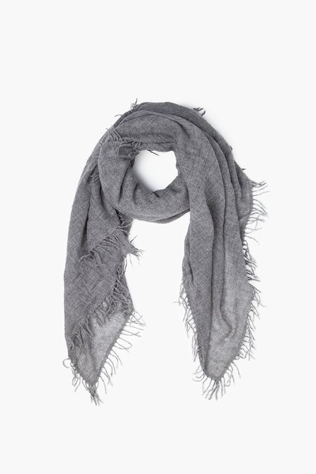 Chan Luu 100% Cashmere Scarf - Heather Grey