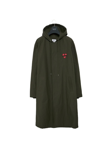 Unisex BC BY BEYONDCLOSET Nomantic Hood Single Coat - Khaki