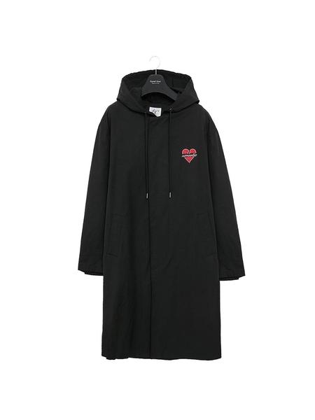 Unisex BC BY BEYONDCLOSET Nomantic Hood Single Coat - Black