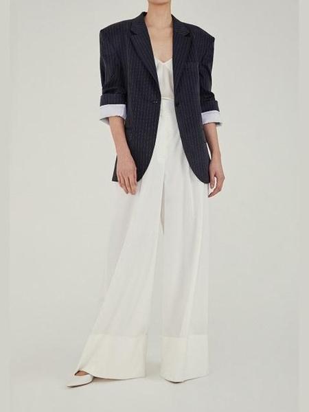 MOON CHOI Cuffed Sleeve Tailored Blazer