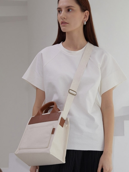 ATCLIP Small Day Bag - Ivory