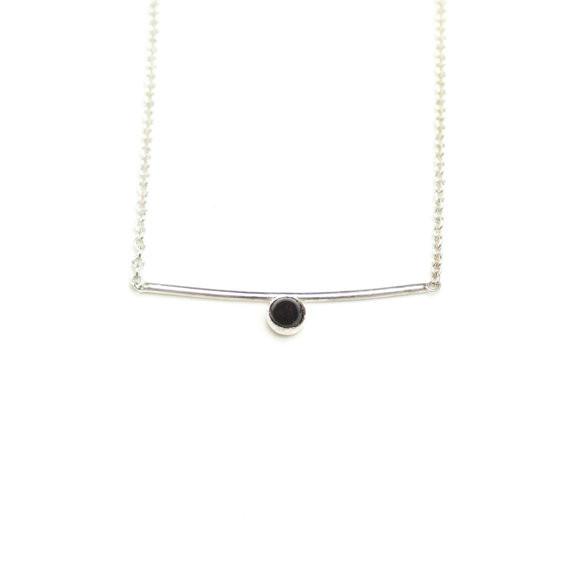 Hart + Stone Darya Mini - Silver Onyx