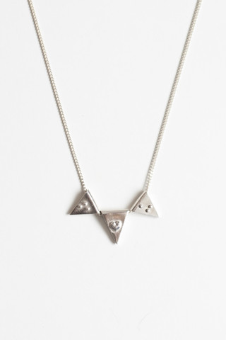 Jessie Necklace - 'f' + 'u'
