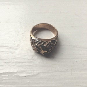 mountain ring- bronze