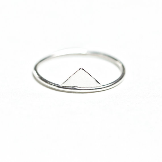 Hart + Stone Solis Lacuna Ring-Silver