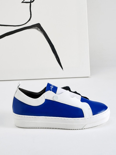 MODERN ALCHEMIST Visage Line Sneakers - Blue