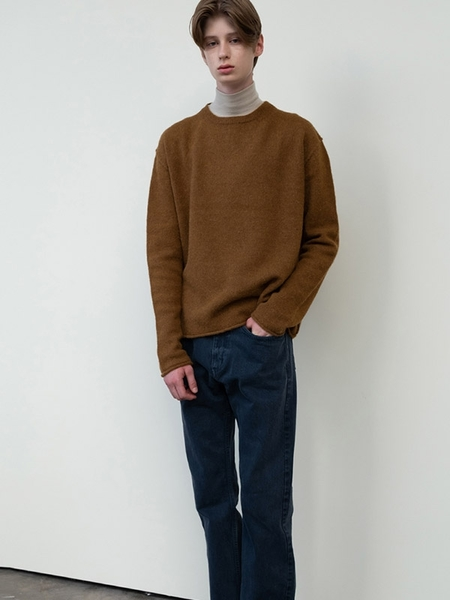 MOIA Alpaca Knit - Olive Brown