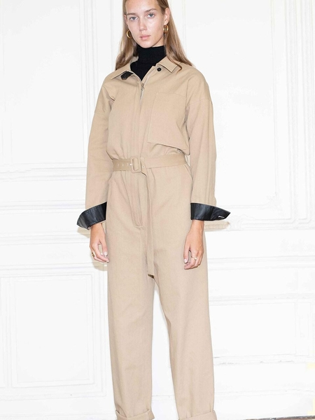 AND YOU Saint Honore Jumpsuit - Beige
