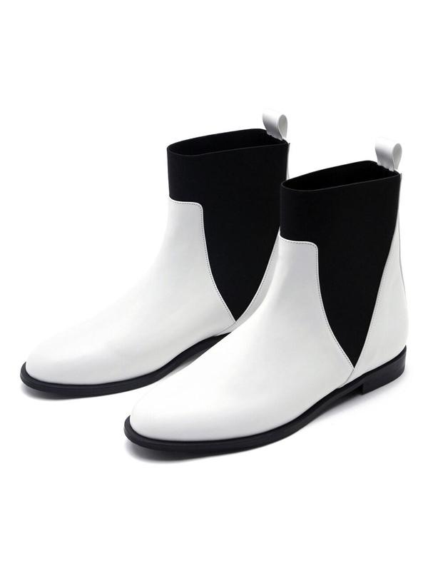 KAREN WHITE House Ankle Boots