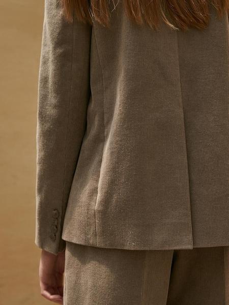 COLLABOTORY Corduroy Single Jacket - Khaki